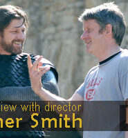 Christopher Smith, on the set of the film Black Death