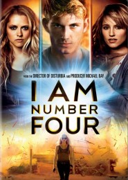 I Am Number Four (2011) DVD Cover