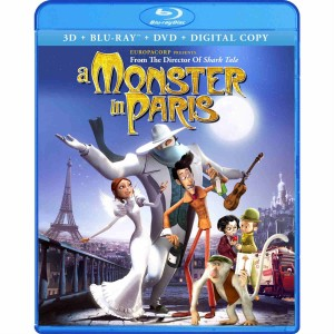 A Monster in Paris cover