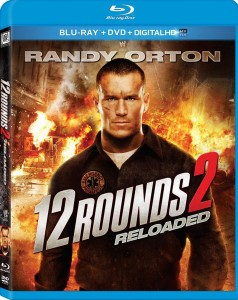 12 Rounds 2: Reloaded (2013) Blue-ray Box Cover