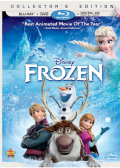 Frozen (2013) Blu-ray cover