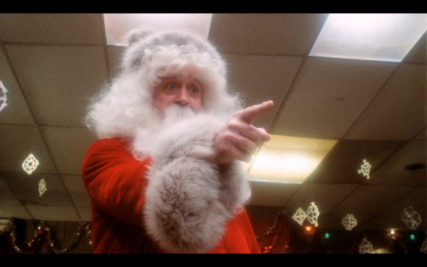 pointing Claus