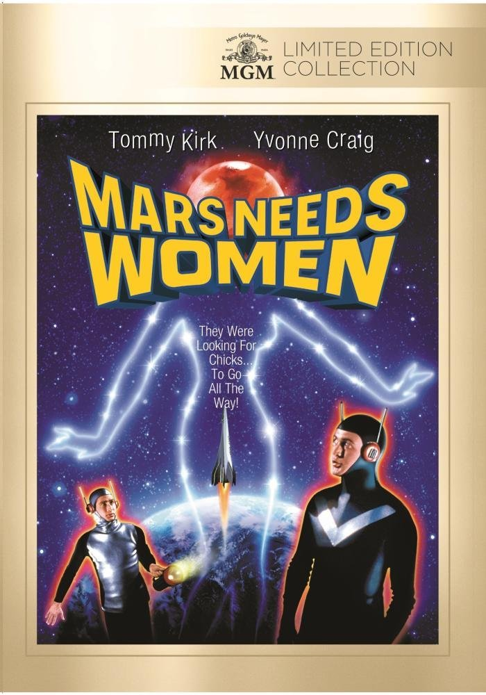 Mars Needs Women Cover