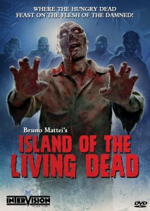 Island of the Living Dead cover