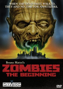 Zombies the Beginning cover
