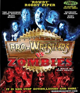 Pro-Wrestlers vs Zombies cover