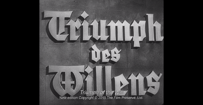 a review of triumph of the will film Hitler was able to convince her to film triumph who claimed in a review she was also the subject of müller's 2000 documentary film leni riefenstahl.