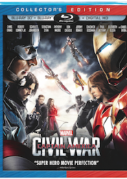 Marvel's Captain America: Civil War On 3D Blu-ray