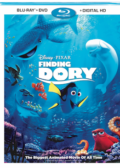 Finding Dory (2016) Blu-ray box cover